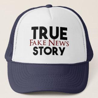 Boné Notícia verdadeira da falsificação da história