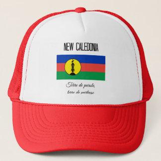 Boné Nova Caledônia, bandeira e divisa (francos)