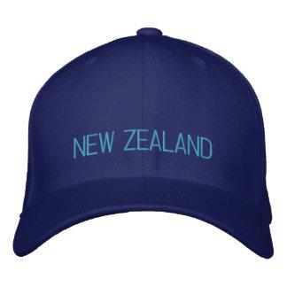 Boné Nova Zelândia bordou o chapéu
