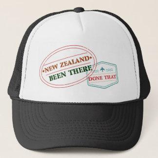 Boné Nova Zelândia feito lá isso
