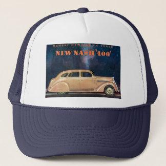 Boné novo do chapéu do camionista de Nash 400 da