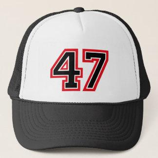 "Boné Número ""47"""