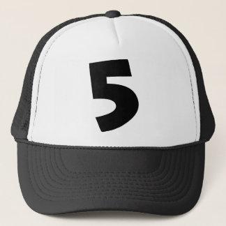 "Boné Número ""5"""