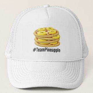 Boné O abacaxi pertence no chapéu da pizza