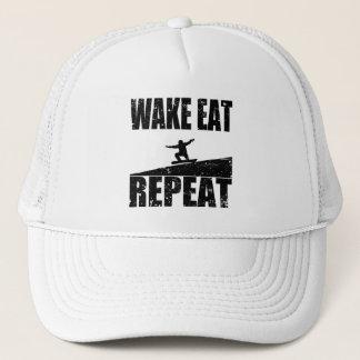 Boné O acordar come a repetição #2 do Snowboard (o