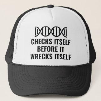 Boné O ADN verifica-se