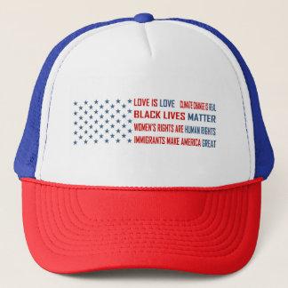 Boné O amor é chapéu do camionista do amor