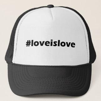 Boné O amor é roupa do apoio do amor LGBT