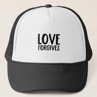 Boné O amor perdoa