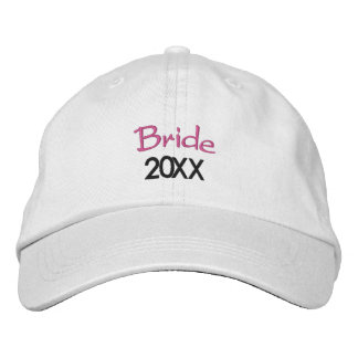Boné O ano em curso 20XX da noiva