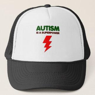 Boné O autismo é poder super, crianças, miúdos,