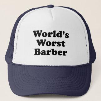 Boné O barbeiro o mais mau do mundo