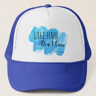 Boné O cabelo do lago não se importa