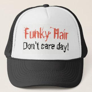 Boné O cabelo Funky não se importa o humor do dia