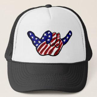 Boné O cair patriótico afrouxa o chapéu