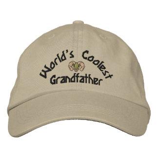 Boné O chapéu bordado do mundo o avô o mais fresco