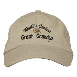 Boné O chapéu bordado do mundo o grande vovô o mais