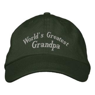 Boné O chapéu bordado o grande vovô do mundo