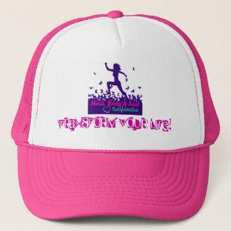 Boné O chapéu cor-de-rosa do camionista de MBST