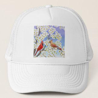 Boné O chapéu da malha dos cardeais