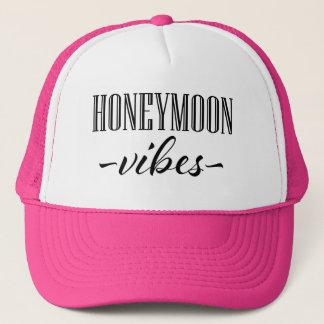 Boné O chapéu das mulheres das impressões da lua de mel