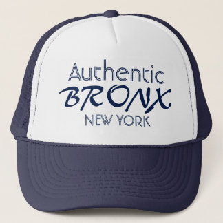 Boné O chapéu do camionista autêntico de Bronx New York