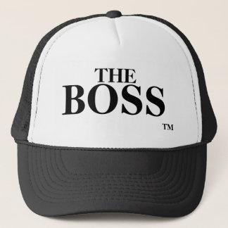 Boné O chapéu do camionista da marca registrada do TM