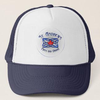 Boné O chapéu do camionista das tubulações e dos