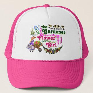 Boné O chapéu do camionista do florista do jardineiro!