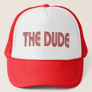 Boné O chapéu do camionista do gajo (vermelho)