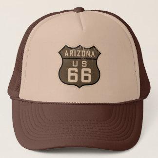Boné O chapéu do camionista do Sepia do design dos E.U.