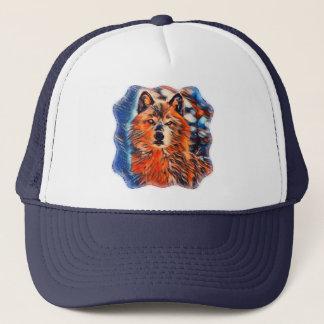 Boné O chapéu do camionista dos animais selvagens dos