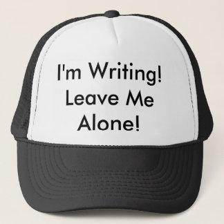 """Boné O chapéu do camionista: """"Eu sou escrita! Deixe-me"""