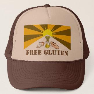 Boné O chapéu do camionista livre do glúten