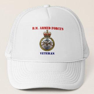 Boné O chapéu do veterano da força de H.M.Armed
