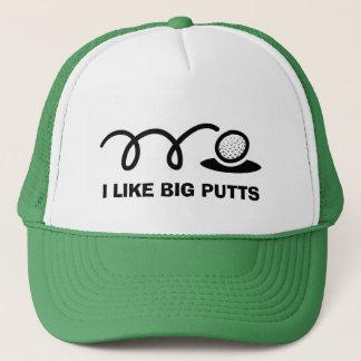 Boné O chapéu engraçado | do golfe eu gosto de tacadas