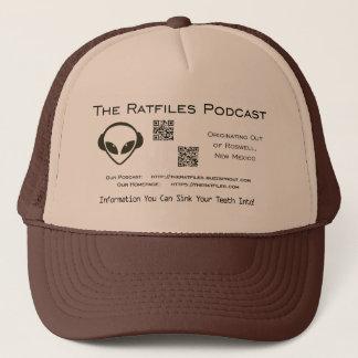 Boné O chapéu oficial do logotipo da mercadoria de