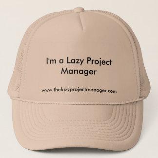 Boné O chapéu preguiçoso do gestor de projecto