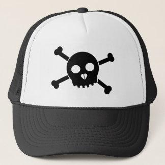 Boné O chapéu principal de Deth preto inclinado