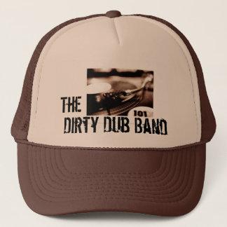 Boné O chapéu sujo do risco da banda do Dub -