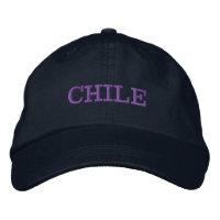 O Chile bordou o chapéu de basebol