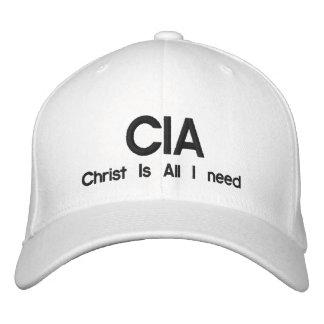 Boné O CIA, cristo é tudo que eu preciso