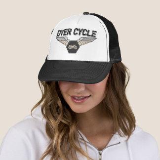 Boné O ciclo do tintureiro voa o logotipo