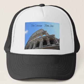 Boné O Colosseum em Roma, Italia