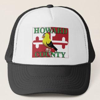 Boné O CONDADO DE HOWARD com goldfinch