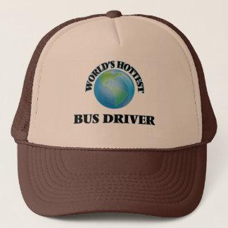 Boné O condutor de autocarro o mais quente do mundo