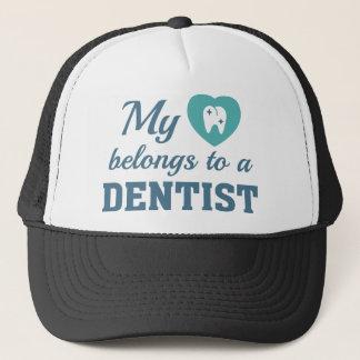 Boné O coração pertence dentista