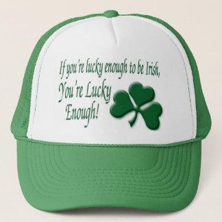 Boné O da sorte o irlandês