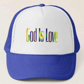 Boné O deus é amor