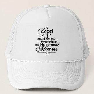 Boné O deus não poderia estar em toda parte assim que